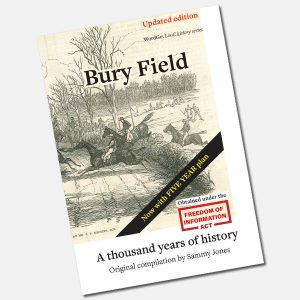 Bury Field book cover updating - Now with 5-year plans