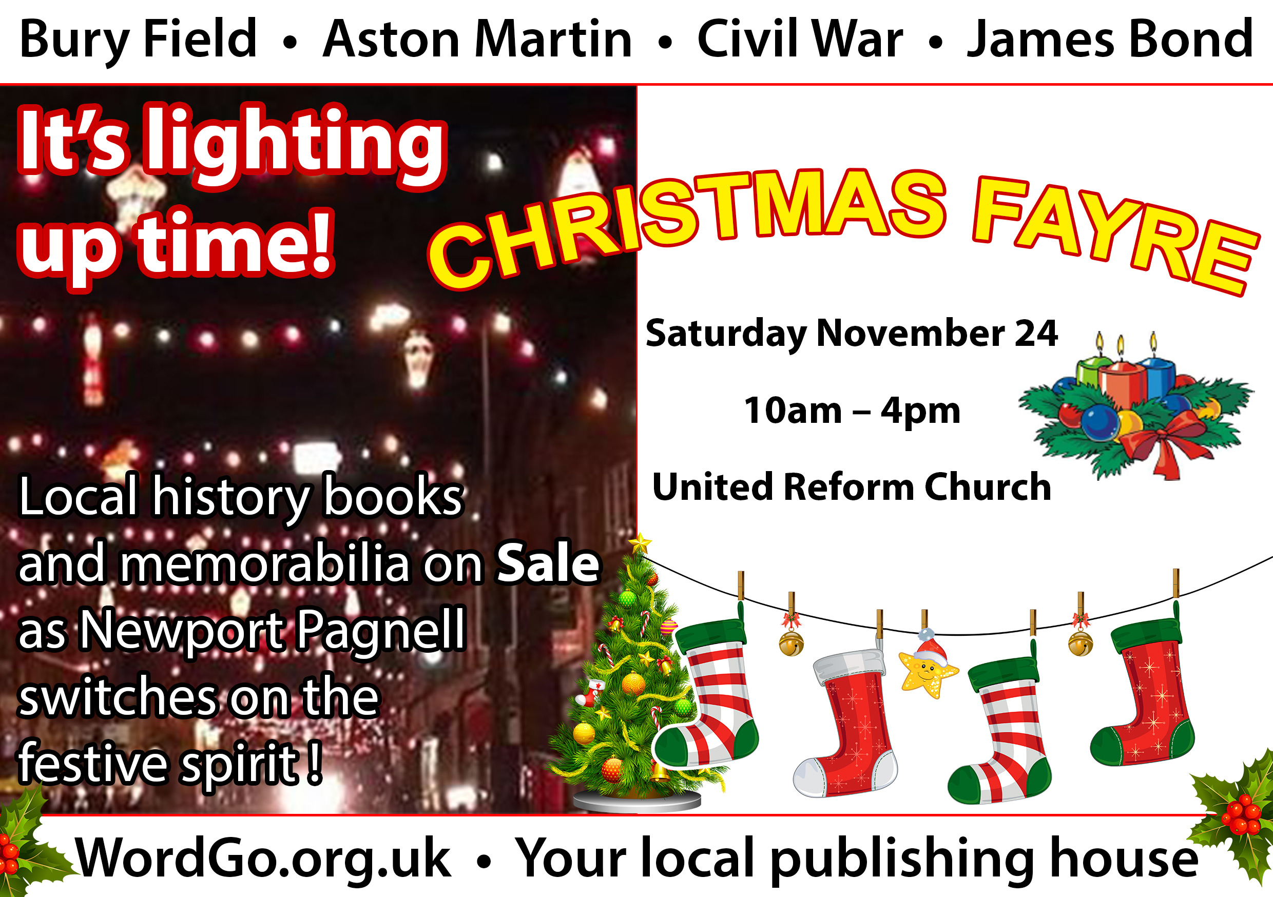 Newport Pagnell Christmas Fayre