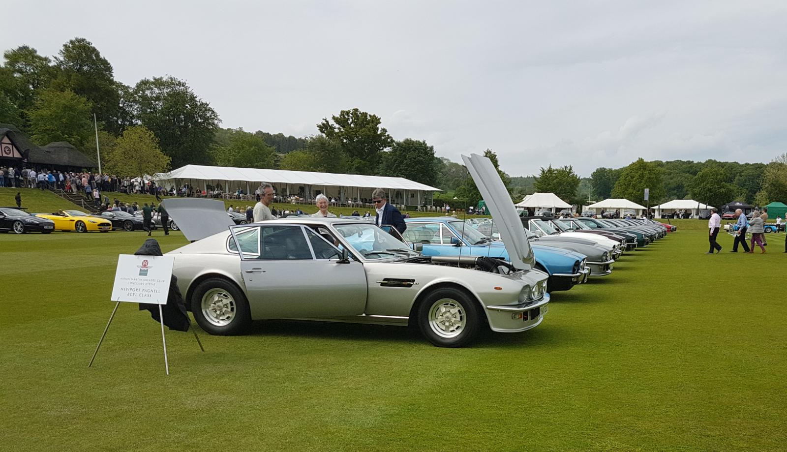 Owners' Club concours d'elegance at the Wormsley Estate, High Wycombe