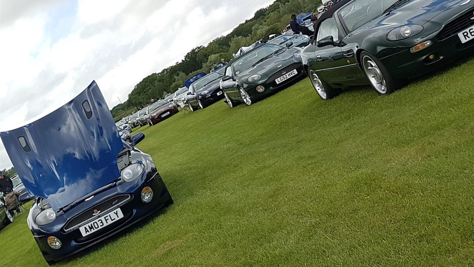 Aston Martins far as eye can see