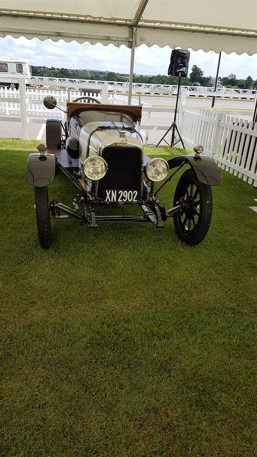 Pride of place: 100-year-old A3 rebuilt by Ecurie Bertelli at Olney
